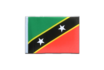 Mini Saint Kitts and Nevis Flag 4x6""