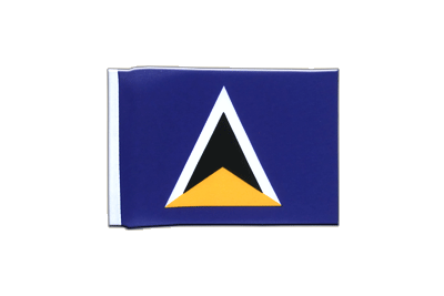 Mini Flag Saint Lucia - 4x6""