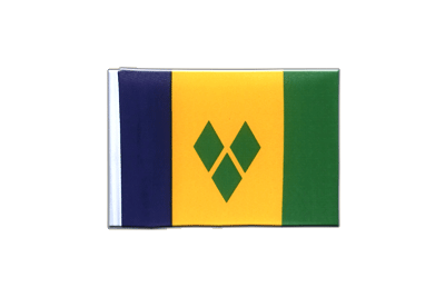 Mini Flag Saint Vincent and the Grenadines - 4x6""