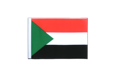 Mini Flag Sudan - 4x6""
