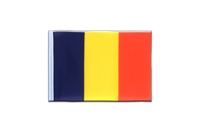 Mini Flag Chad - 4x6""