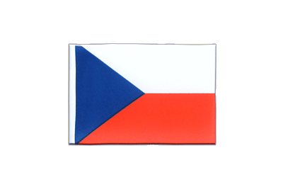 Mini Czech Republic Flag 4x6""
