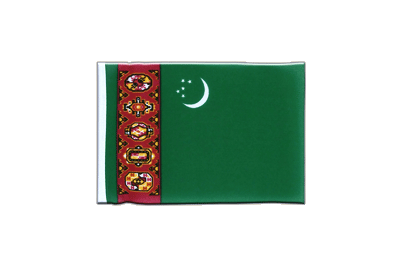 Mini Flag Turkmenistan - 4x6""