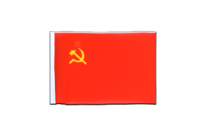 Mini Flag USSR Soviet Union - 4x6""