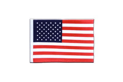 Mini Flag USA - 4x6""