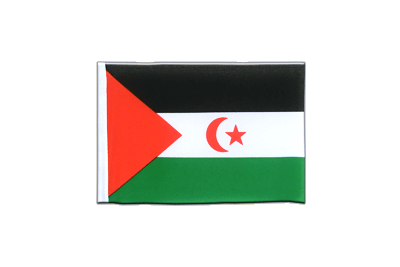 Mini Flag Western Sahara - 4x6""