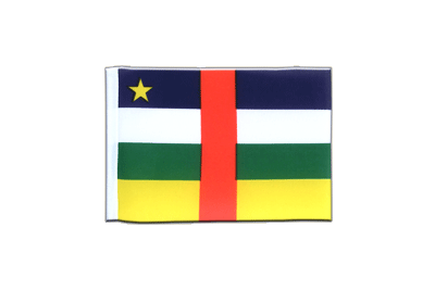 Mini Flag Central African Republic - 4x6""