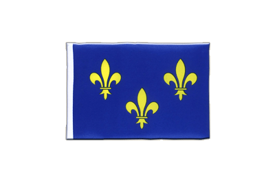 Mini Flag Île-de-France - 4x6""