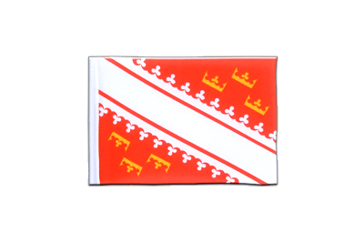 Mini Flag Alsace - 4x6""
