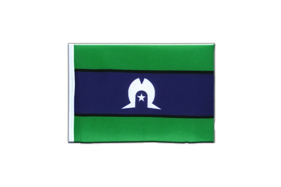 Mini Flag Torres Strait Islands - 4x6""