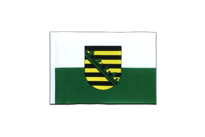 Mini Flag Saxony - 4x6""