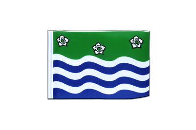 Mini Cumbria Flag 4x6""