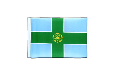 Mini Flag Derbyshire - 4x6""