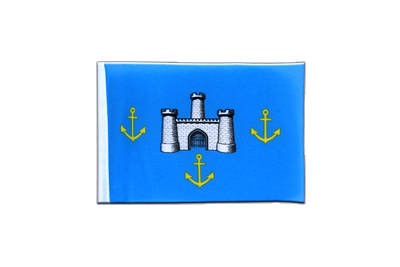Mini Isle of Wight Council Flag 4x6""