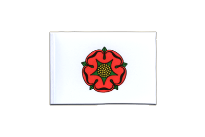 Mini Flag Lancashire red rose - 4x6""