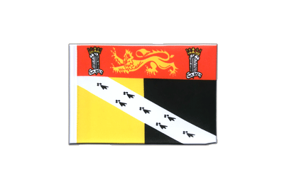 Mini Flag Norfolk - 4x6""