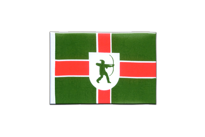 Mini Flag Nottinghamshire new - 4x6""