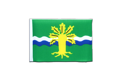 Mini Flag Nottinghamshire - 4x6""