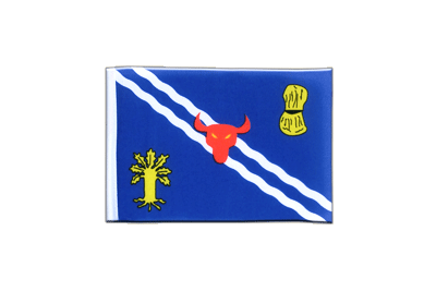 Mini Oxfordshire Flag 4x6""