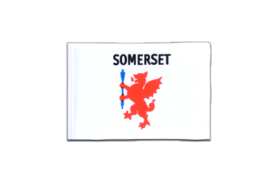 Mini Flag Somerset - 4x6""