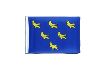 Fanion drapeau Sussex 10x15 cm