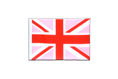 Mini Flag Union Jack pink - 4x6""