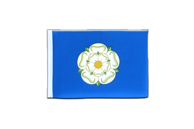 Mini Flag Yorkshire new - 4x6""