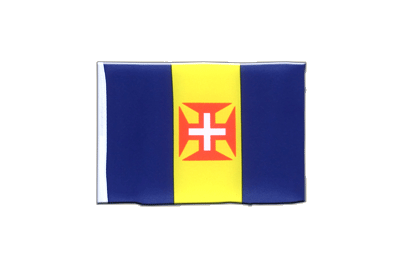 Mini Madeira Flag 4x6""