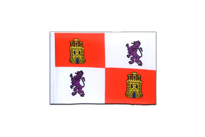 Mini Castile and León Flag - 4x6""