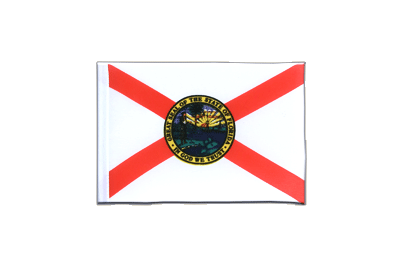 Mini Florida Flag 4x6""