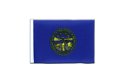 Mini Flag Nebraska - 4x6""
