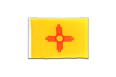 Fanion drapeau Nouveau-Mexique (New Mexico) 10x15 cm