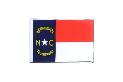 Fanion drapeau Caroline du Nord (North Carolina) 10x15 cm