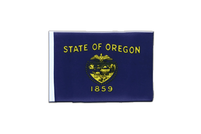 Fanion drapeau Oregon 10x15 cm