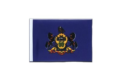 Mini Flag Pennsylvania - 4x6""