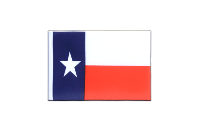 Mini Flag Texas - 4x6""
