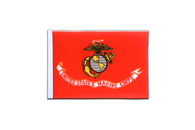 Mini Flag US Marine Corps - 4x6""