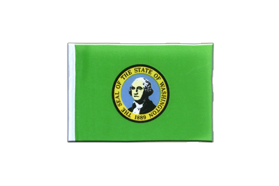 Mini Flag Washington - 4x6""