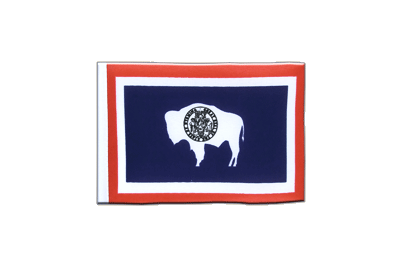 Mini Flag Wyoming - 4x6""