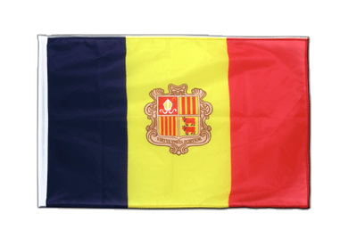 Sleeved Flag PRO Andorra - 2x3 ft