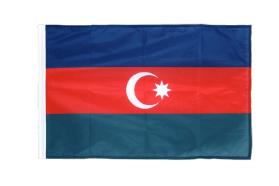 Sleeved Flag PRO Azerbaijan - 2x3 ft
