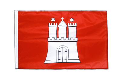 Sleeved Flag PRO Hamburg - 2x3 ft