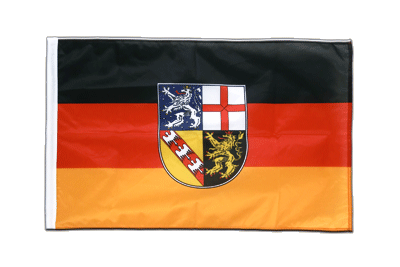 Saarland Hohlsaum Flagge PRO 60 x 90 cm