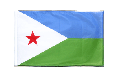 Sleeved Flag PRO Djibouti - 2x3 ft