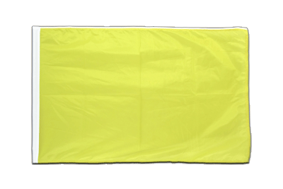 Sleeved Flag PRO yellow - 2x3 ft