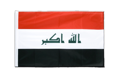 Sleeved Flag PRO Iraq 2009 - 2x3 ft