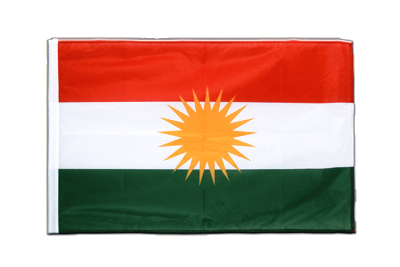 Sleeved Flag PRO Kurdistan - 2x3 ft