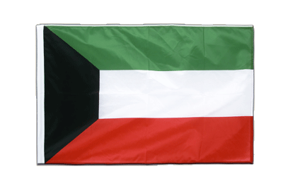 Sleeved Flag PRO Kuwait - 2x3 ft