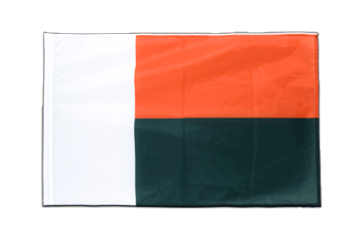 Sleeved Flag PRO Madagascar - 2x3 ft