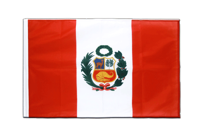 Sleeved Flag PRO Peru - 2x3 ft